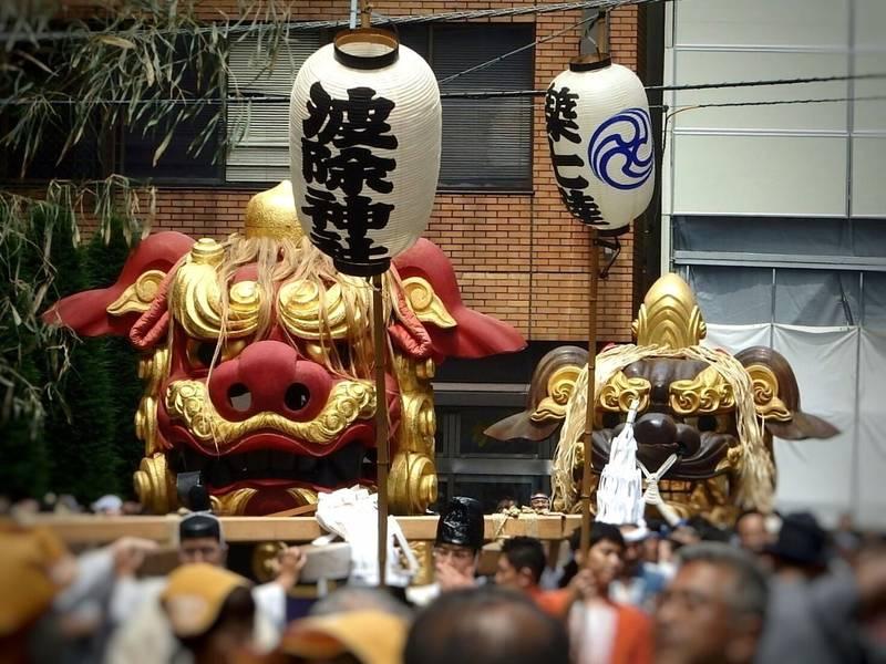 波除稲荷神社 - 中央区/東京都 の見どころ。獅子祭り... by linlin   Omairi(おまいり)