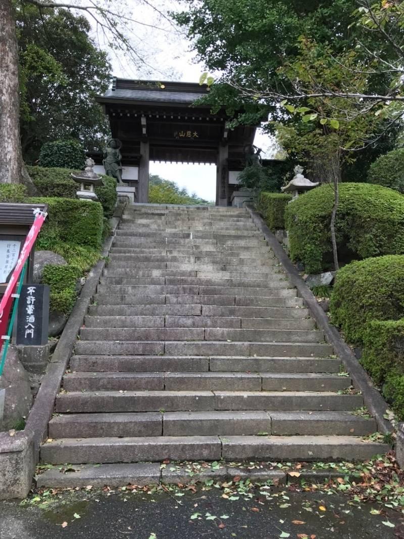 光明寺 - 桐生市/群馬県 の見どころ。山門は急勾配でした。 by たかく   Omairi(おまいり)