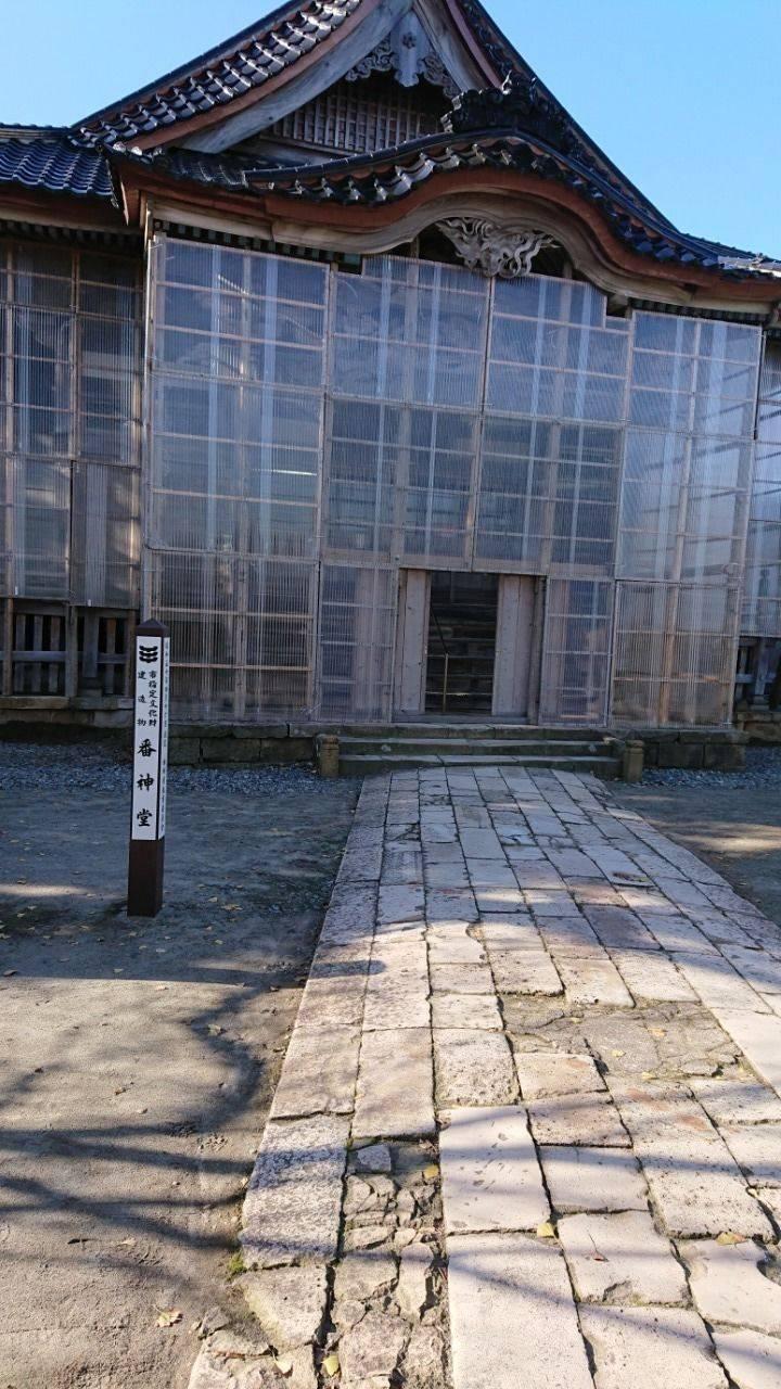番神堂 - 柏崎市/新潟県 の見どころ。冬支度の番神堂です。 by りじゅ | Omairi(おまいり)