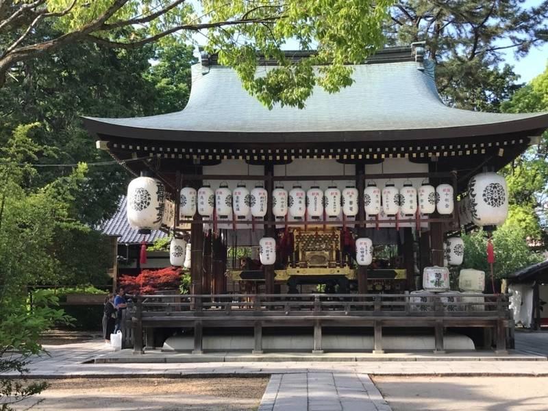 御靈神社    (上御霊神社) - 京都市/京都府 の... by ノリ   Omairi(おまいり)