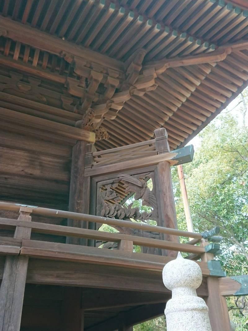 熊岡八幡神社 - 三豊市/香川県 の見どころ。本堂の裏... by さくら   Omairi(おまいり)