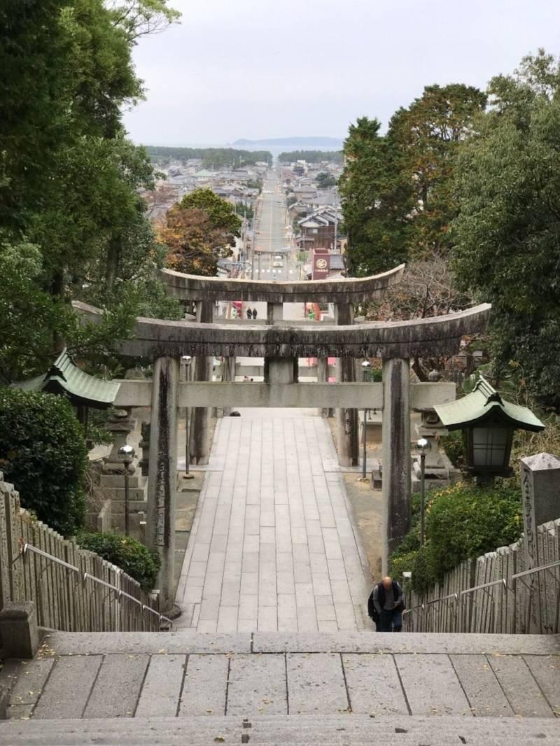 宮地嶽神社 - 福津市/福岡県 の見どころ。参道です。... by わっちん | Omairi(おまいり)