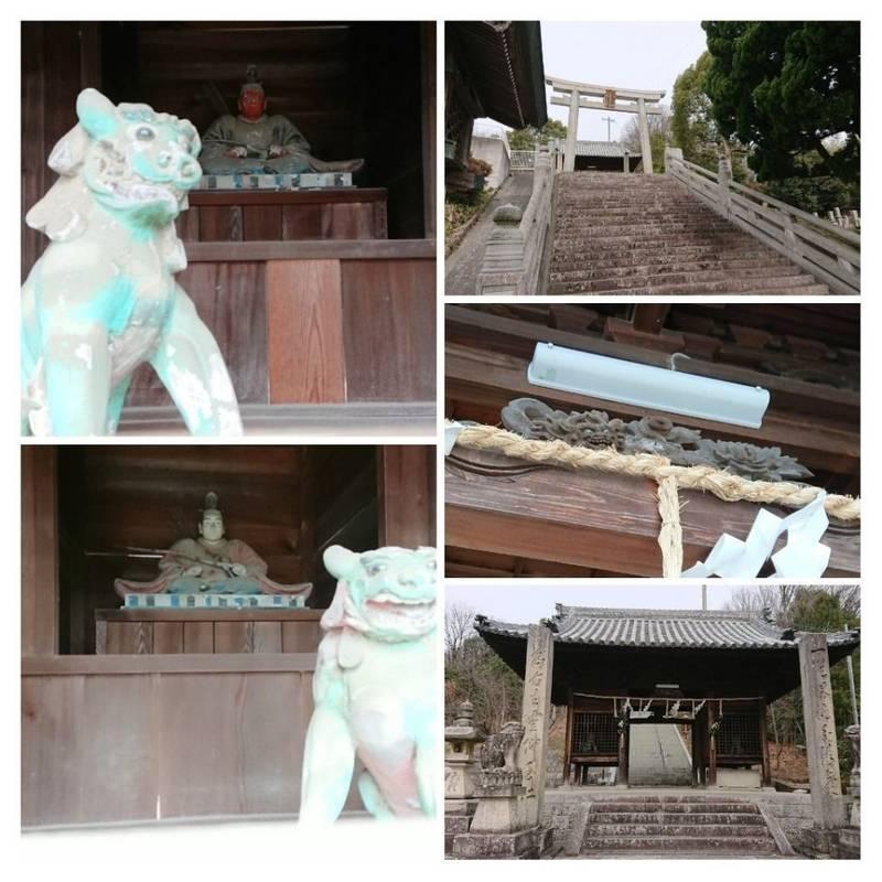 熊岡八幡神社 - 三豊市/香川県 の見どころ。階段下の... by さくら | Omairi(おまいり)