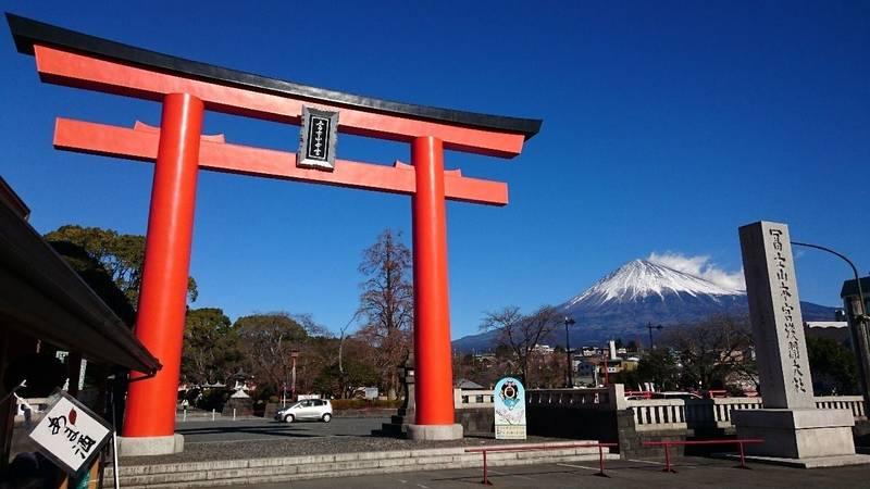 山 富士山 神社 浅間