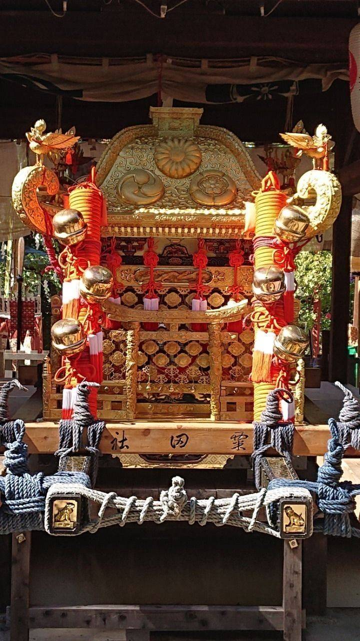 粟田神社 - 京都市/京都府 の見どころ。ちょうどお祭... by ことぶき | Omairi(おまいり)
