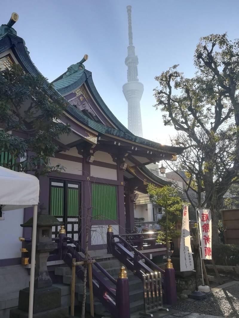 高木神社 - 墨田区/東京都 の見どころ。天気も良く、... by すがえもん | Omairi(おまいり)