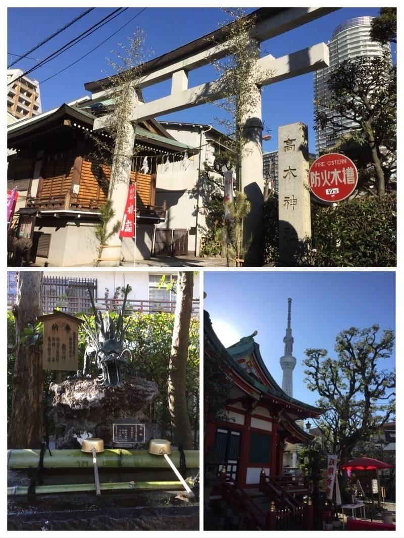 高木神社 - 墨田区/東京都 の立ち寄り。右下写真、本... by ぶるうがむ | Omairi(おまいり)