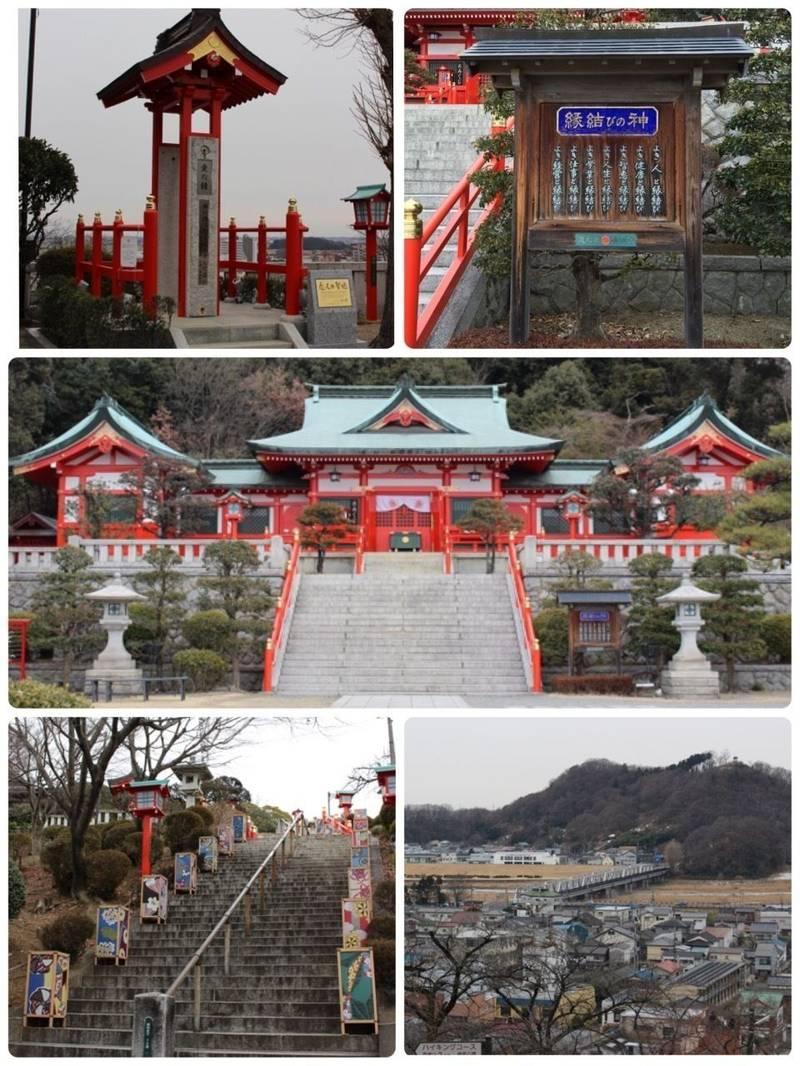 足利織姫神社 - 足利市/栃木県 の見どころ。長い石段... by ほわいと。 | Omairi(おまいり)