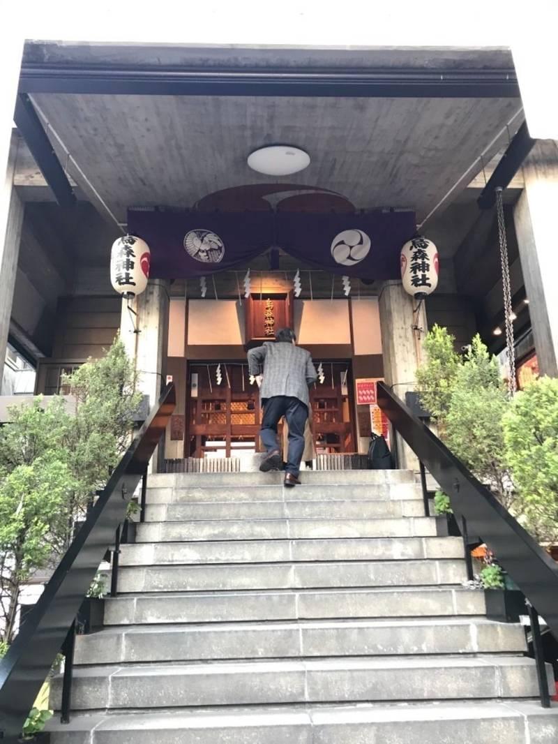 烏森神社 - 港区/東京都 の見どころ。烏森神社の拝殿... by とと | Omairi(おまいり)
