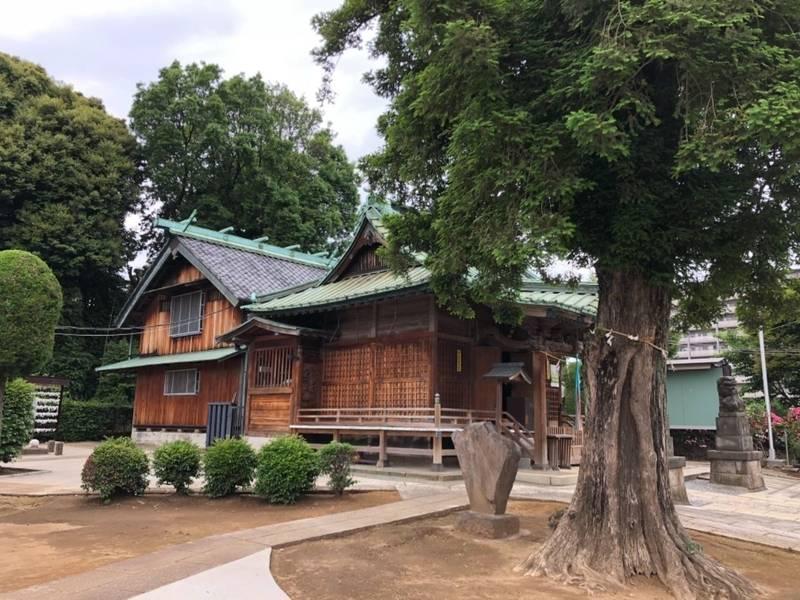 諏訪神社 - 北区/東京都 の見どころ。諏訪神社社殿で... by 厩戸   Omairi(おまいり)