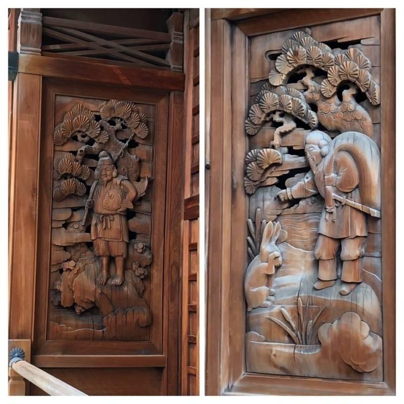 諏訪神社 - 北区/東京都 の見どころ。拝殿脇の彫刻で... by 厩戸   Omairi(おまいり)