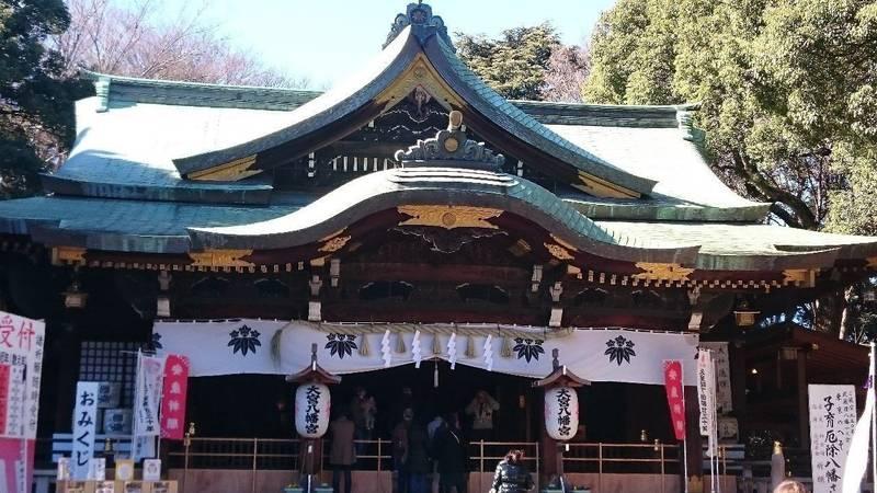 大宮八幡宮 - 杉並区/東京都 の見どころ。拝殿の中に... by えぬ   Omairi(おまいり)