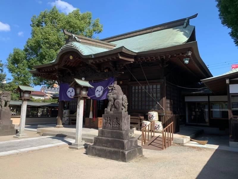 日吉 神社 久留米