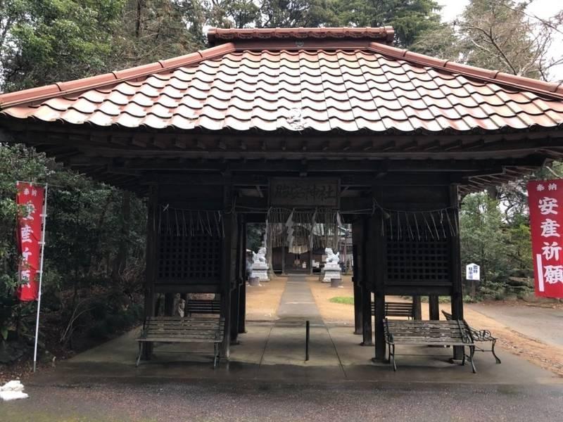胎安神社 - かすみがうら市/茨城県 の見どころ。胎安... by 快   Omairi(おまいり)