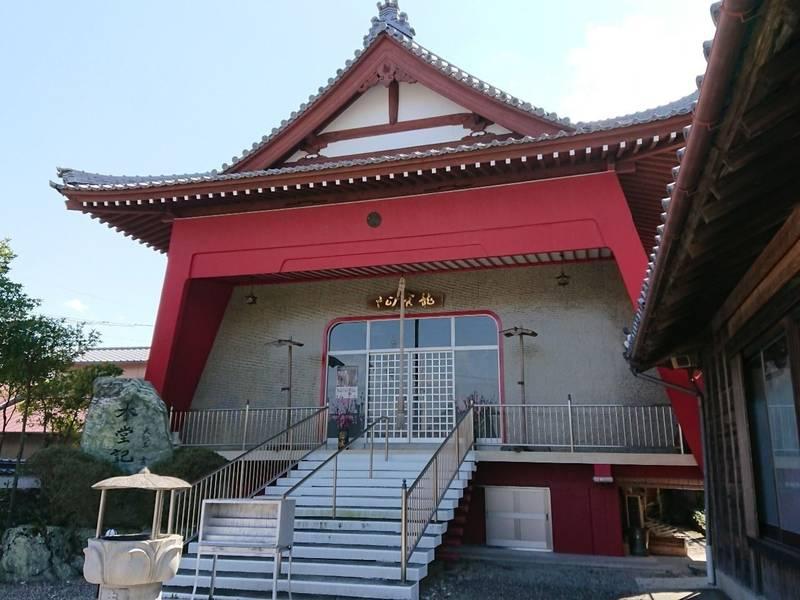 圓福寺 - 徳島市/徳島県 の見どころ。本堂の外観が少... by さくら | Omairi(おまいり)
