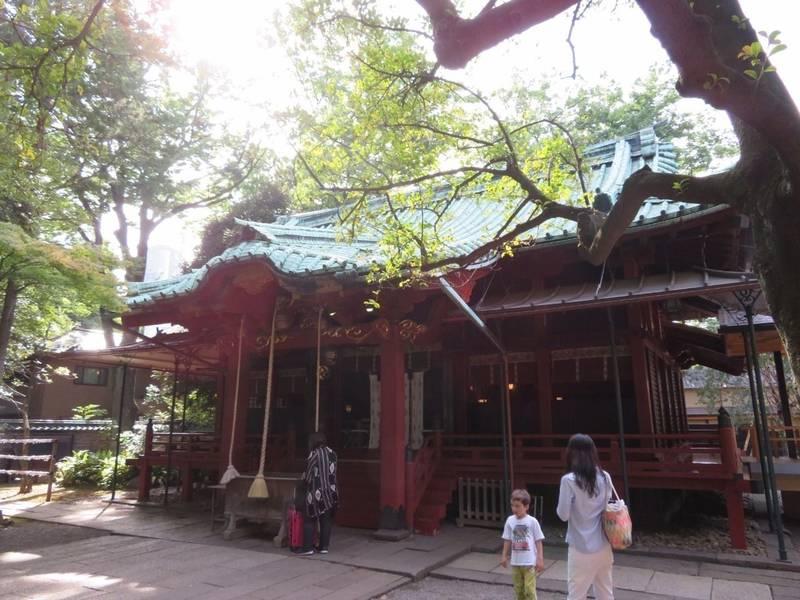赤坂氷川神社 - 港区/東京都 の見どころ。拝殿、この... by タッツン | Omairi(おまいり)