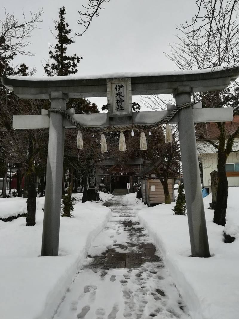 伊米神社八幡宮 - 小千谷市/新潟県 の見どころ。伊米... by すがえもん | Omairi(おまいり)
