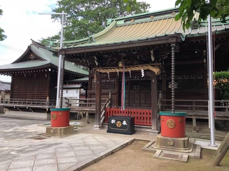 八雲神社 - 北区/東京都 の見どころ。八雲神社の社殿... by 厩戸   Omairi(おまいり)