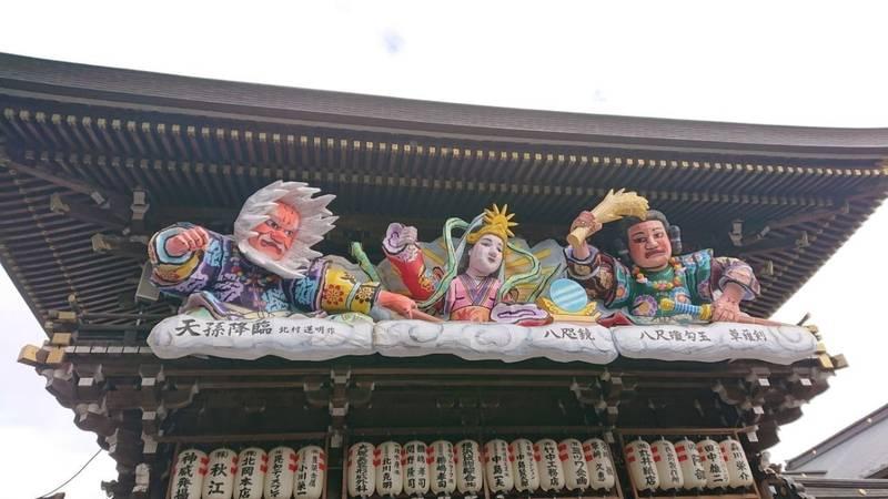 寒川神社 - 高座郡寒川町/神奈川県 の見どころ。神門... by みきえもん | Omairi(おまいり)